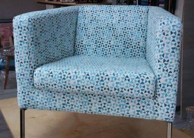 fotel kokardki