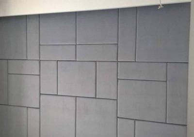 ściana welur