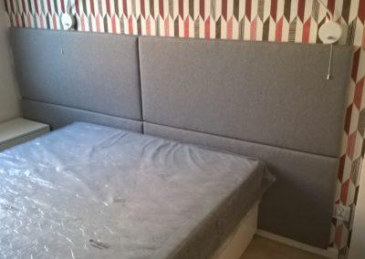 panele łóżko