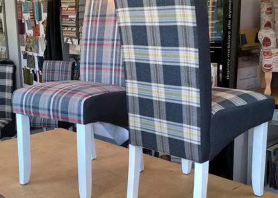 krzesła krata