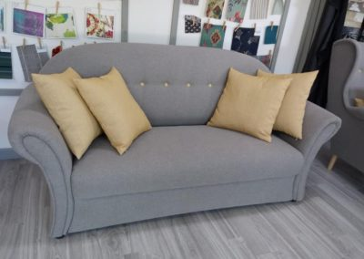 sofa rustic